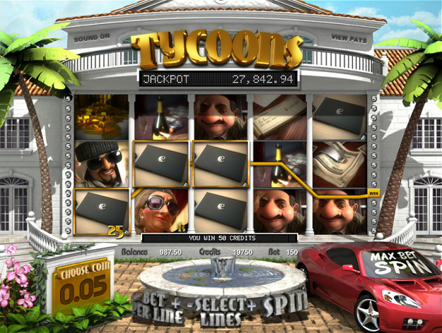 tycoons 3d slots games