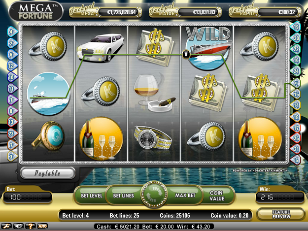 casino online slot machines mega fortune