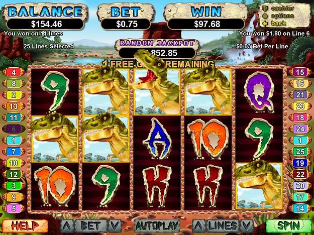 three slot machine