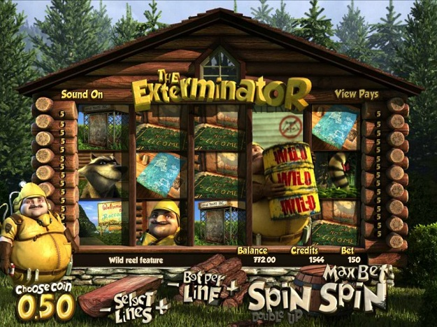 The Exterminator™ Slot Machine Game to Play Free in BetSofts Online Casinos