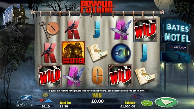 Psycho Slot Machine Online – Play for Free or Real Money